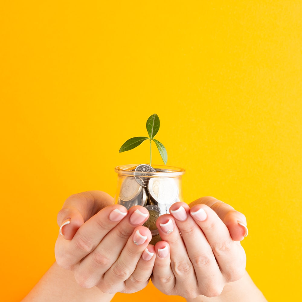 Bild Geld sparen und Angebot anfordern
