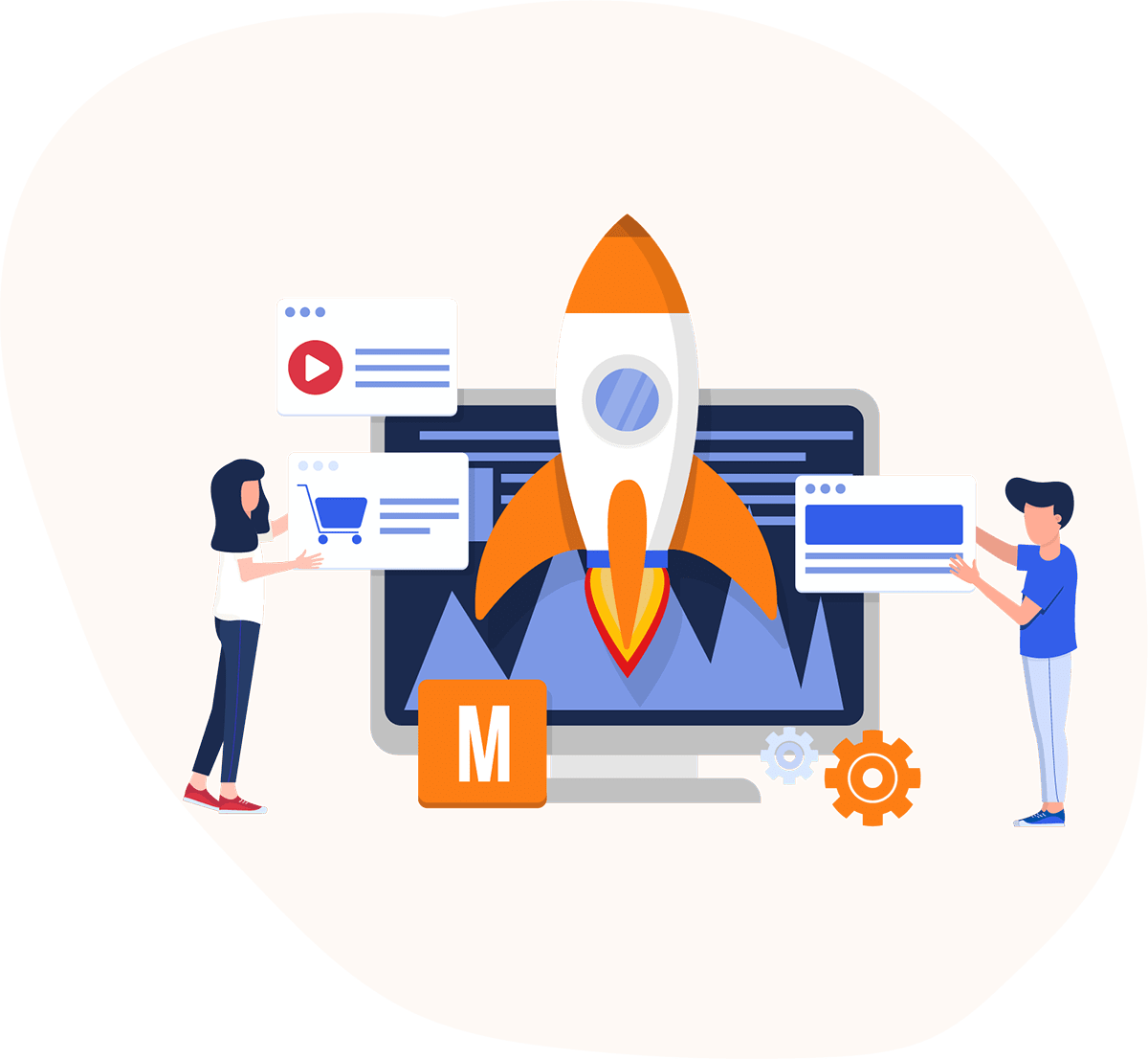 Online Marketing SEM SMM Google Ads